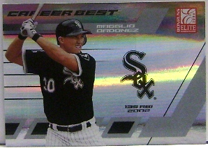 2004 Donruss Elite Career Best #26 Magglio Ordonez