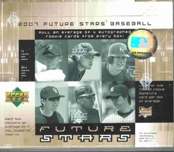 2007 Upper Deck Future Stars MLB Baseball Sports Trading Cards Hobby Box