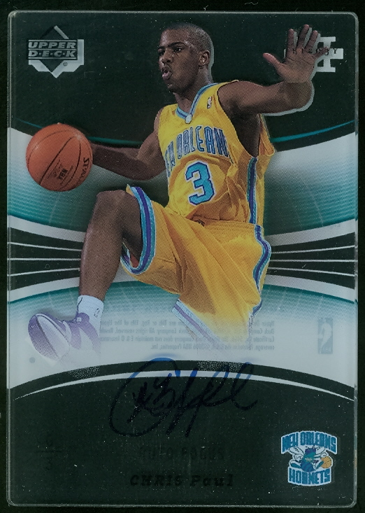 2005-06 Upper Deck Trilogy Auto Focus #CP Chris Paul
