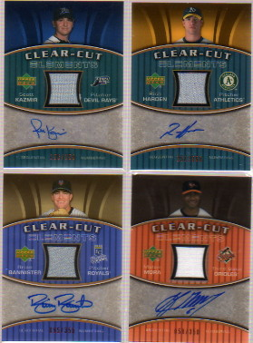 2007 Upper Deck Elements Clear Cut Elements Bronze #MM Melvin Mora