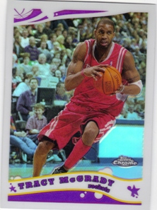 2005-06 Topps Chrome Refractors #110 Tracy Mcgrady