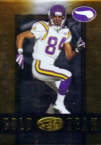 2002 Leaf Certified Gold Team #GT15 Randy Moss