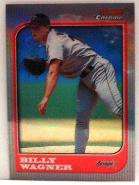 1997 Bowman Chrome Refractors #42 Billy Wagner