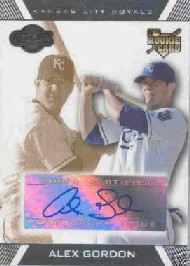 2007 Topps Co-Signers #121 Alex Gordon AU RC