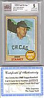 1968 Topps EDDIE STANKY Topps File Copy 1/1 BVG 5 (Ex)