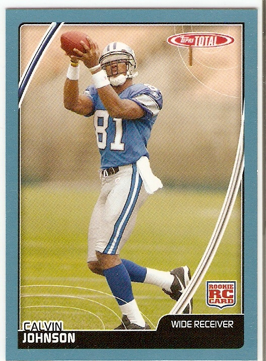 2007 Topps Total Blue #475 Calvin Johnson