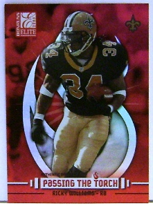 2003 Donruss Elite Passing the Torch #PT10 Ricky Williams