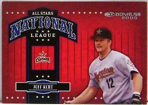 2005 Donruss All-Stars NL #7 Jeff Kent