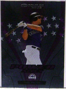 2005 Donruss Power Alley Purple #24 Todd Helton