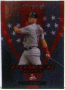 2005 Donruss Power Alley Red #11 Jim Edmonds