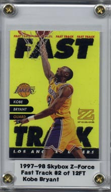 1997-98 Z-Force Fast Track #2 Kobe Bryant