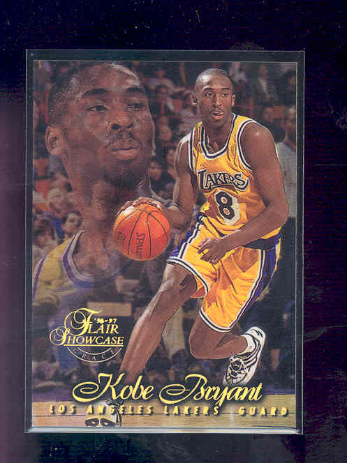 1996-97 Flair Showcase Row 1 #31 Kobe Bryant