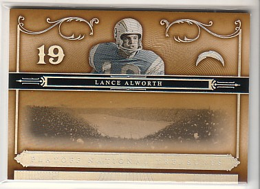 2006 Playoff National Treasures #51 Lance Alworth
