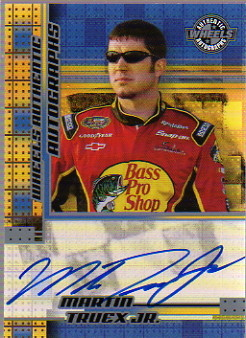 2004 Wheels Autographs #64 Martin Truex Jr.