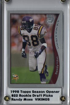 1998 Topps Season Opener #22 Randy Moss RC