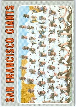 1970 Topps #696 San Francisco Giants TC