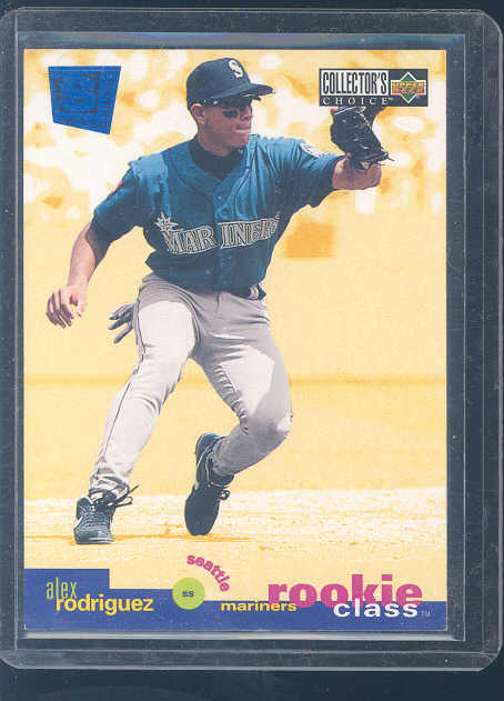 1995 Collector's Choice SE #1 Alex Rodriguez