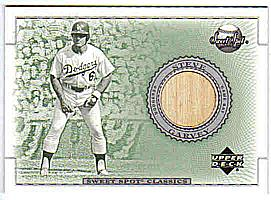 2002 Sweet Spot Classics Game Bat #BSG Steve Garvey