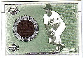 2002 Sweet Spot Classics Game Jersey #JSG Steve Garvey