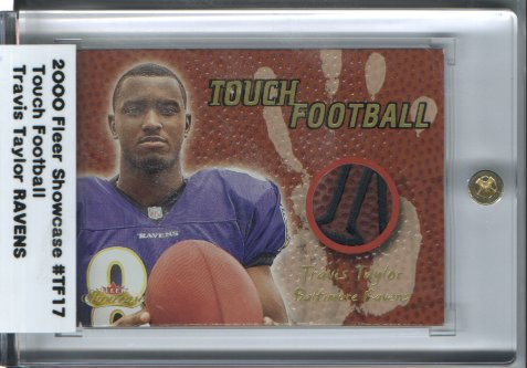 2000 Fleer Showcase Touch Football #27 Travis Taylor