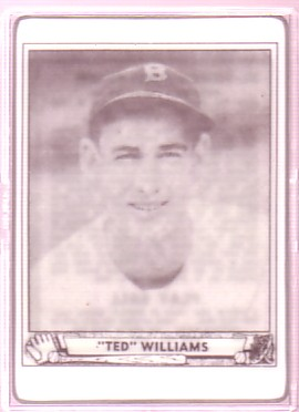 1997 R and N Ted Williams Porcelain #2 Ted Williams/Playball 1940