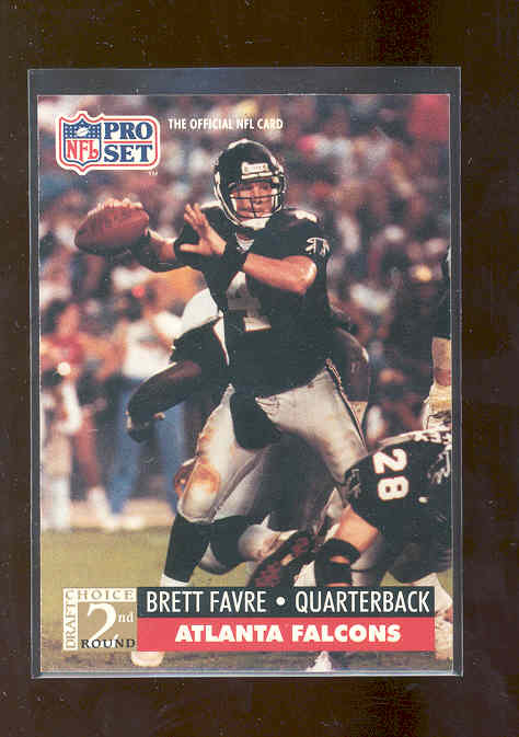 1991 Pro Set #762 Brett Favre RC