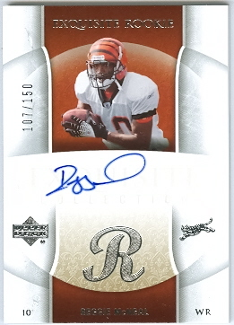 2006 Exquisite Collection #96 Reggie McNeal AU RC