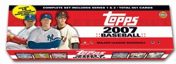2007 Topps MLB Baseball Factory Sealed Complete Set Holiday Edition