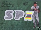 2007 SPx Winning Materials Dual Green #RC Cal Ripken /15