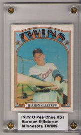 1972 O-Pee-Chee #51 Harmon Killebrew