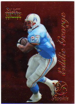 1996 Select Certified Red #100 Eddie George