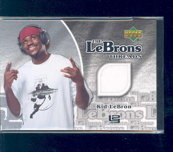 2006-07 Upper Deck The LeBrons Memorabilia #2 LeBron James