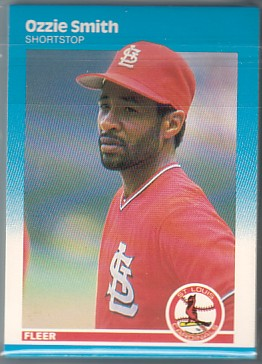 1987 Fleer St Louis Cardinals Team Set OZZIE  20+ Cards