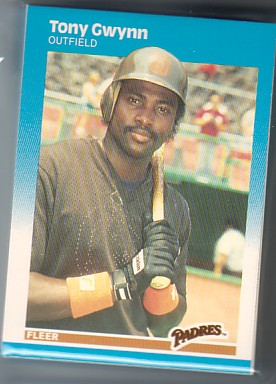 1987 Fleer PADRES Team Set TONY GWYNN  20+ Cards