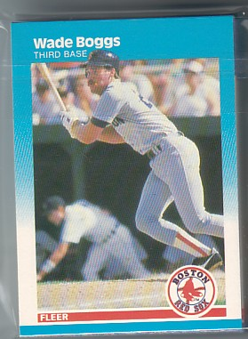 1987 Fleer RED SOX Team Set Wade Boggs 20+ Cards