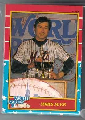 1987 Fleer World Series 12 Card Set New York METS
