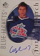 2005-06 SP Authentic #151 Gilbert Brule AU RC