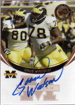 2006 Press Pass Autographs Bronze #64 Gabe Watson