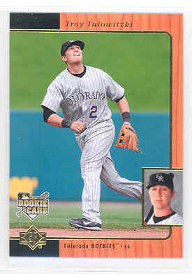 2007 SP Rookie Edition #281 Troy Tulowitzki 96