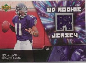 2007 Upper Deck Rookie Jerseys #TS Troy Smith
