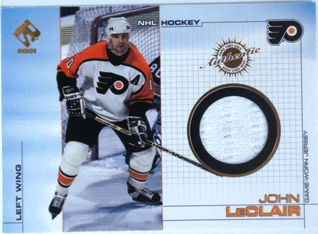 2000-01 Private Stock Game Gear #83 John LeClair J