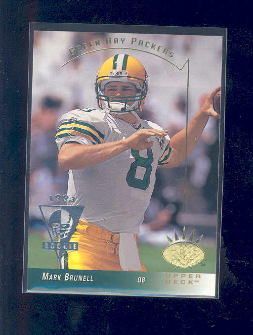 1993 SP #91 Mark Brunell RC