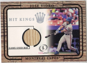 2001 Fleer Legacy Hit Kings #29 Jose Vidro