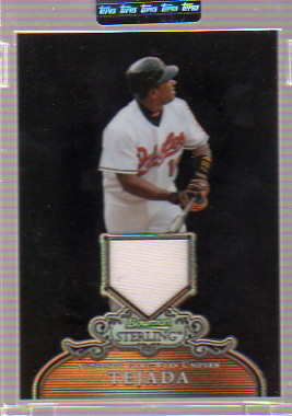 2006 Bowman Sterling Black Refractors #MT Miguel Tejada Pants