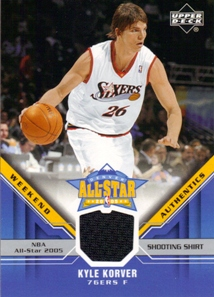 2005-06 Upper Deck All-Star Weekend Authentics #KK Kyle Korver