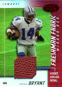 2002 Leaf Certified Mirror Red Materials #102 Antonio Bryant