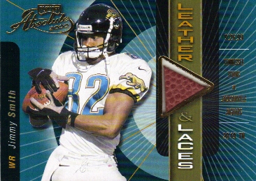 2000 Absolute Leather and Laces #JS82 Jimmy Smith/350