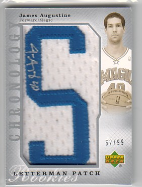 2006-07 Chronology #111 James Augustine JSY AU RC