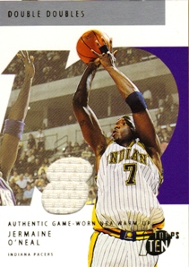2002-03 Topps Ten Relic Parallel #108 Jermaine O'Neal/1500
