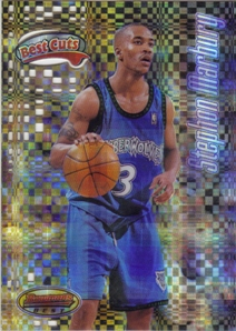 1997-98 Bowman's Best Cuts Atomic Refractors #BC9 Stephon Marbury